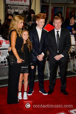 Paul Scholes and Claire Froggatt