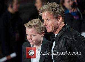 Gordon Ramsey and Guest