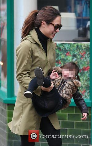 Myleene Klass and Hero Harper