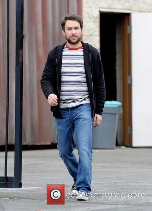 Charlie Day - Jason Sudeikis gets hands on experience on being a dad while holding a baby on the set...