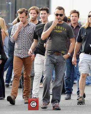 Jason Sudeikis, Jason Bateman and Chris Pine