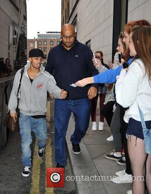 JLS and Aston Merrygold - JLS members arriving at their Hotel this afternoon ahead of the concert at the O2...