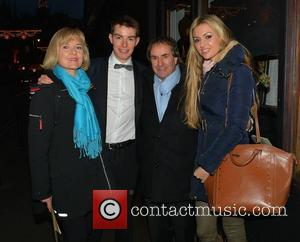 Diane Davison, Michael Davison, Chris de Burgh and Rosanna Davison - Chris de Burgh's youngest son Michael Davison has a...