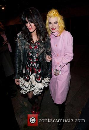 Pam Hogg and Guest - Playboy's 60th anniversary issue party hosted by Marc Jacobs and Kate Moss at The Playboy...