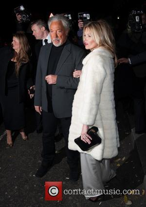 Tom Jones and Kate Moss