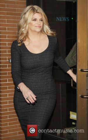 Kirstie Alley - Kirstie Alley seen at the Katie telelvision show in New York City - New York City, New...