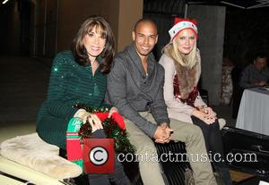 Kate Linder, Bryton James and Melissa Ordway - The 82nd Annual Hollywood Christmas Parade on Hollywood Blvd - Hollywood, California,...