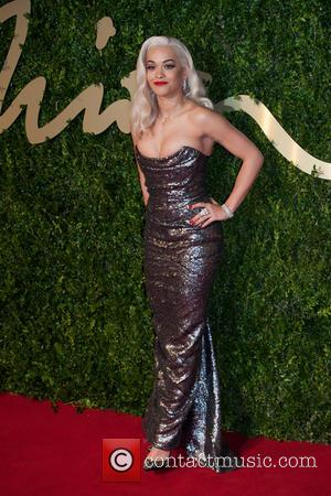 Rita Ora - The 2013 British Fashion Awards held at the Coliseum - Arrivals. - London, United Kingdom - Monday...
