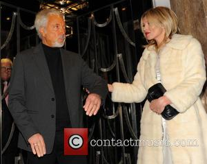 Kate Moss and Tom Jones