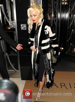 Rita Ora - Celebrities at Claridge's hotel in Mayfair - London, United Kingdom - Monday 2nd December 2013
