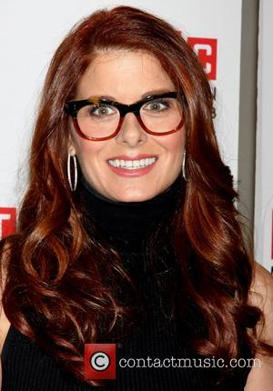 Debra Messing - Meet and greet with the cast of the play Outside Mullingar, held at the Manhattan Theater Club...