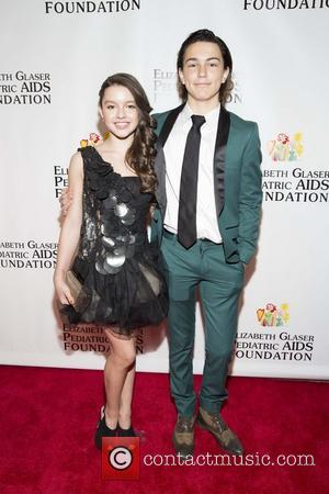 Fatima Ptacek and Breaker Novogratz - Elizabeth Glaser Pediatric Aids Foundation Global Impact Award Dinner Gala - New York, United...