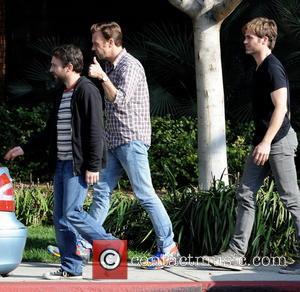 Jason Sudeikis, Chris Pine and Charlie Day