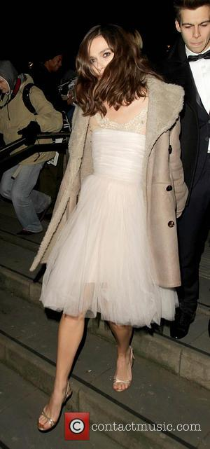 Keira Knightley Recycles Wedding Dress For Charity Gala