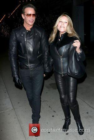 Lloyd Klein and Jocelyn Wildenstein - Lloyd Klein and Jocelyn Wildenstein leaving Boa Steakhouse together in West Hollywood - Los...
