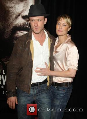 Ben Foster and Robin Wright - at the New York Premiere of Lone Survivor  at the Ziegfeld Theater in...