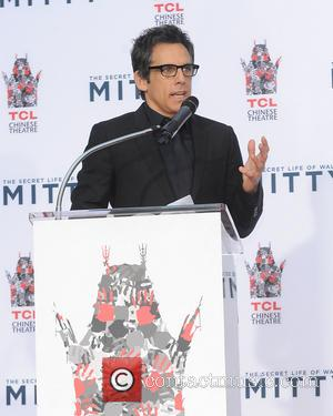 Ben Stiller - Ben Stiller's hand and footprint ceremony at TCL Chinese Theater - Hollywood, California, United States - Tuesday...