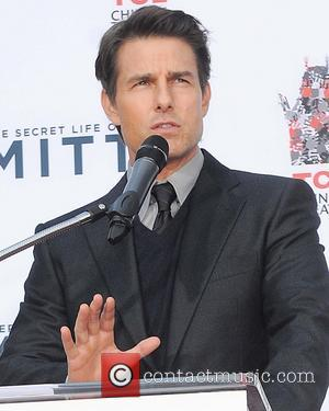 Tom Cruise - Hand and footprint ceremony for Ben Stiller