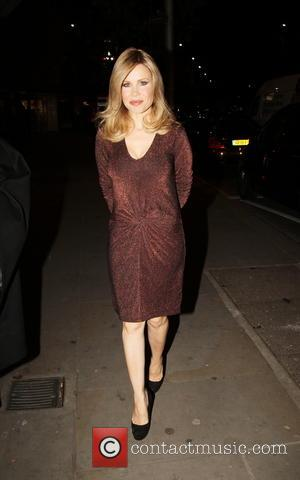 Melinda Messenger - Bible for fashion VIP Party - London, United Kingdom - Wednesday 4th December 2013