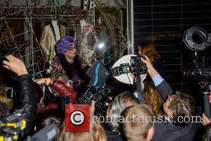 Dame Edna Everage and Stella Mccartney
