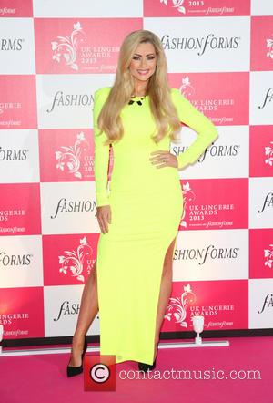 Nicola McLean - The UK Lingerie Awards 2013 held at Freemason's Hall - Arrivals - London, United Kingdom - Wednesday...