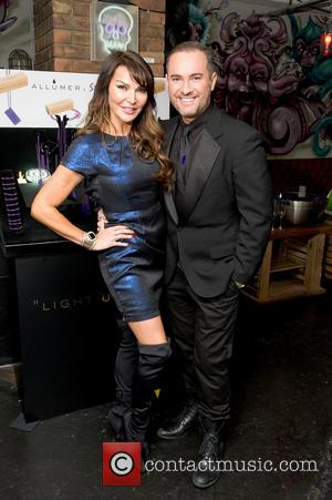 Lizzie Cundy and Nick Ede