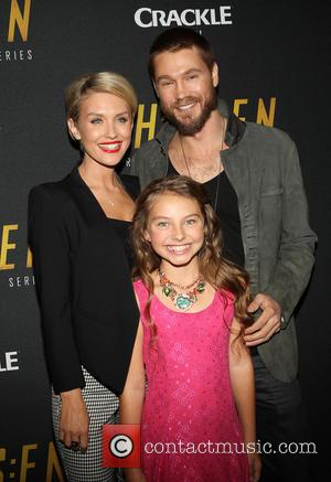 Nicky Whelan, Caitlin Carmichael and Chad Michael Murray