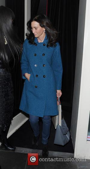 Nancy Shevell - McCartney family seen out for a rare family dinner at La Petite Maison restaurant. Paul McCartney, James...