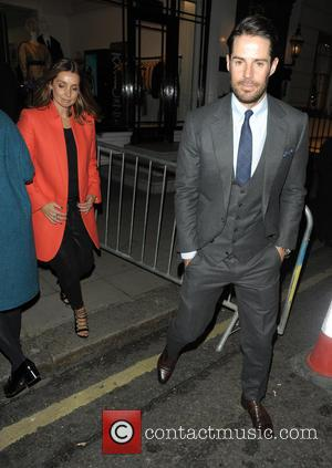 Louise Redknapp and Jamie Redknapp - Stella McCartney Christmas Lights Switch On - London, United Kingdom - Wednesday 4th December...