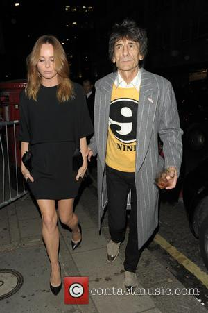 Stella McCartney and Ronnie Wood - Stella McCartney Christmas Lights Switch On - London, United Kingdom - Wednesday 4th December...