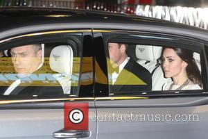 William, Catherine, Duke, Duchess Of Cambridge and Prince William