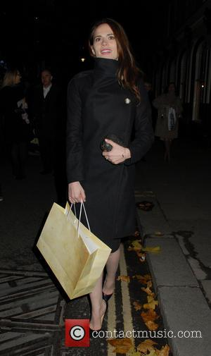 Hayley Atwell - Celebrities attend Fayre of St James at St James's Church - London, United Kingdom - Thursday 5th...