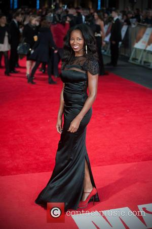 Jamelia - The Royal Film Performance of 'Mandela: Long Walk to Freedom' held at the Odeon Leicester Square - Arrivals....