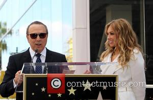 Tommy Mottola and Thalia - Thalia is honored with a Star on the Hollywood Walk of Fame - Hollywood, California,...