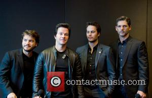 Emile Hirsch, Mark Wahlberg, Taylor Kitsch and Eric Bana - Press Conference for 'Lone Survivor' held at The Mandarin Oriental...