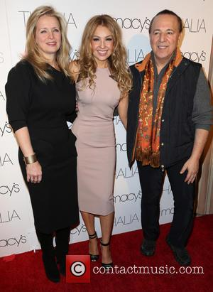 Laura Zapata, Thalia and Tommy Mottola