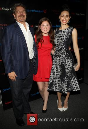 John Wells, Emma Kenney and Emmy Rossum - The Weinstein Company's