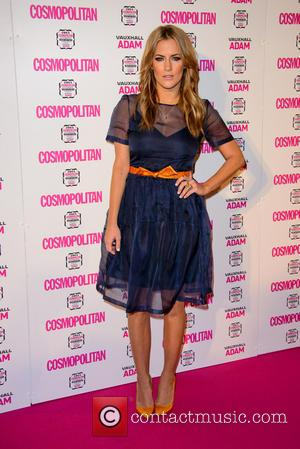 Caroline Flack - Cosmopolitan Ultimate Women of the Year Awards - Arrivals - London, United Kingdom - Thursday 5th December...