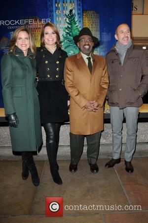 Natalie Morales, Savannah Guthrie, Al Roker and Matt Lauer - 81st annual Rockefeller Center Christmas Tree Lighting Ceremony - Manhattan,...