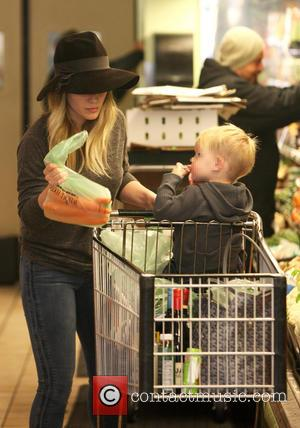 Hilary Duff and Luca Cruz Comrie