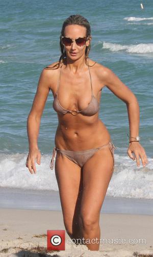 Lady Victoria Hervey - Lady Victoria Hervey shows off her bikini body as she enjoys the sun in Miami Beach....
