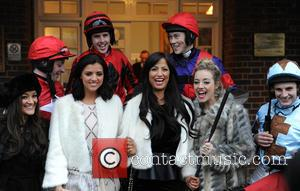 Chantelle Houghton, Lucy Mecklenburgh and Sandown Park