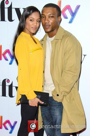 Ashley Walters and Danielle Isaie - Sky's Women in Film and Television Awards - Arrivals - London, United Kingdom -...