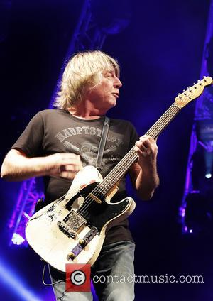 Rick Parfitt and Status Quo - Status Quo performing on the first night of their U.K. tour at Echo Arena...