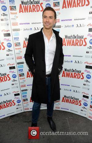 Richard Fleeshman - Whatsonstage.com Awards Nominations launch party held at Café de Paris - Arrivals - London, United Kingdom -...