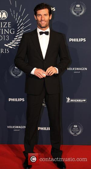Mark Webber - FIA Gala and prize giving event for champions in motorsport - Arrivals - Paris, France - Friday...
