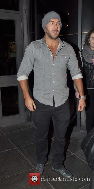 Shayne Ward - Celebrities arrive for 'The Late Late Show' - Dublin, Ireland - Friday 6th December 2013