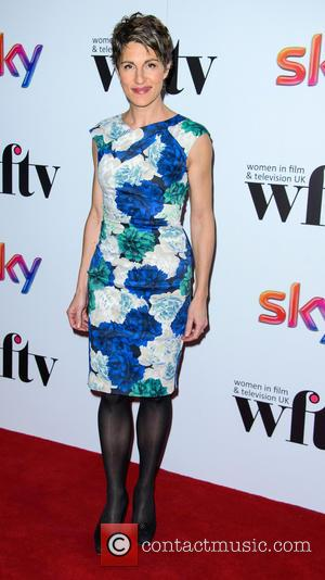 Tamsin Greig - Sky's Women in Film and Television Awards - Arrivals - London, United Kingdom - Friday 6th December...