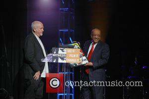 Peter Gabriel and Dr. Mo Ibrahim - Peter Gabriel, Isha Seasay, and Witness Celebrate the 2013 Focus For Change Benefit...