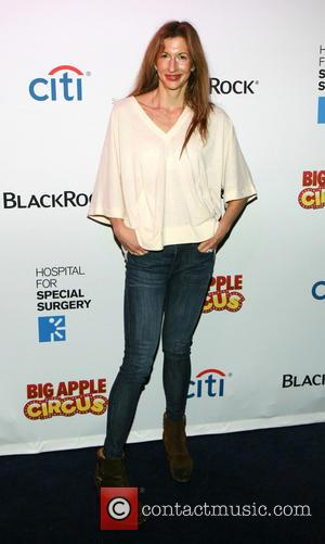 Alysia Reiner - The Hospital for Special Surgery's seventh annual 'Big Apple Circus Benefit' held at Damrosch Park at Lincoln...